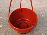Pot suspension 'Lavaredo' Ø 12 cm (Arca)