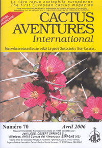 Cactus Aventures International 2006   - les 4 num�ros