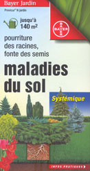 Fongicide Bayer 'Maladies du Sol' (Previcur)   - flacon 420 ml