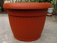 Pot rond 'Similcotto' Ø 25 cm terracotta (Arca)