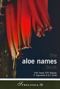 The Aloe name book (O.M. Grace et al.)   - Le volume relié